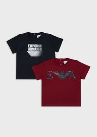 Armani Pack of 2 T-shirts with logo print