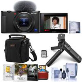 Sony ZV-1 Compact 4K HD Camera - With Free Mac Acc