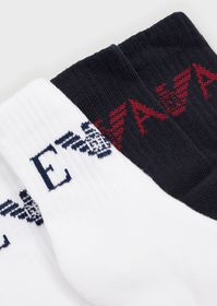 Armani Pack of 2 pairs of socks with EA logo