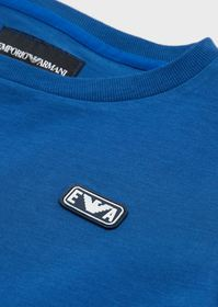 Armani Jersey T-shirt with EA logo patch