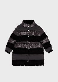 Armani Quilted jacket with velvet inserts