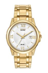 Citizen Men's Eco-Drive 3-Hand Bracelet Watch, 40m