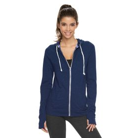 Juniors' SO® Lightweight Zip-Up Hoodie