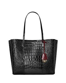 Tory Burch - Perry Embossed Leather Triple Compart