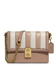 COACH - Hutton Mini Colorblock Quilted Leather Sho