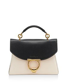 Salvatore Ferragamo - Margot Small Color Block Lea