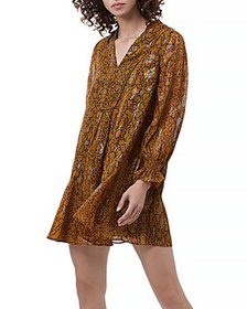 FRENCH CONNECTION - Desta Snake Print Dress