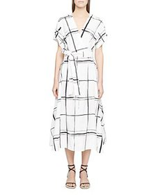 3.1 Phillip Lim - Windowpane Crossover Dress