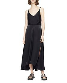 3.1 Phillip Lim - V Neck Midi Dress