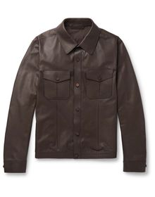 ERMENEGILDO ZEGNA - Leather jacket