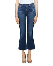 L'AGENCE - Kendra High Rise Cropped Flared Jeans i