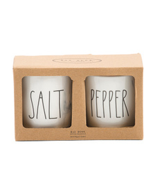 Set Of 2 Salt And Pepper Canisters