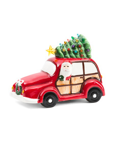 10.5in Nostalgic Vehicle Christmas Decor