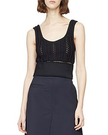 3.1 Phillip Lim - Crochet Tank Top