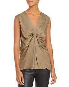3.1 Phillip Lim - V-Neck Ruched Front Tank