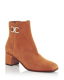 Salvatore Ferragamo - Women's Mid Heel Booties