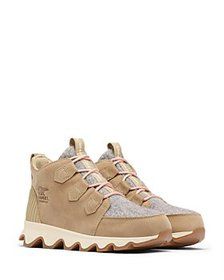 Sorel - Women's Kinetic Caribou Lace Up Sneakers