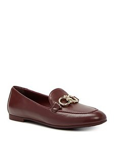 Salvatore Ferragamo - Women's Almond Toe Logo Embe