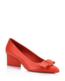 Salvatore Ferragamo - Women's Viva 55 Nappa Pumps