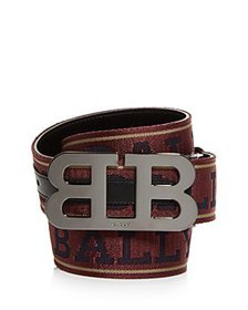 Bally - Men's Mirror B Reversible Belt