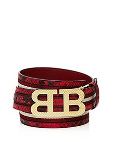 Bally - Men's Mirror B Buckle Reversible Leather B