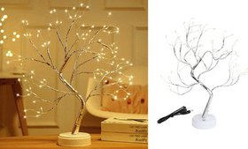 108 LED Gypsophila Night Light Table Fairy Tree Li