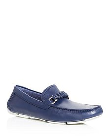 Salvatore Ferragamo - Men's Stuart Braided Leather