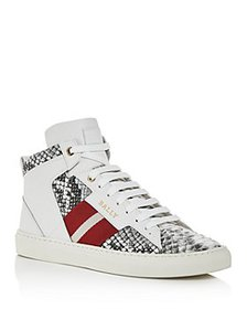 Bally - Men's Hedern Snake-Embossed Leather High-T