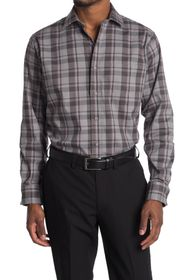 Cole Haan Plaid Performance Sport Shirt