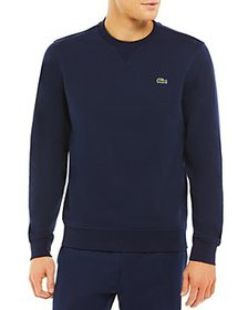 Lacoste - Cotton Blend V Stitched Regular Fit Swea
