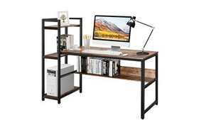 Costway Multi-Functional Computer Desk with 4-tier