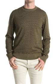 7 For All Mankind Printed Sweater