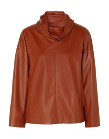SALVATORE FERRAGAMO - Leather jacket