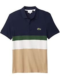 Lacoste Color Blocked Polo Shirt
