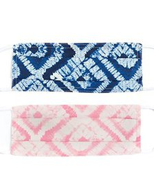 Echo - Tie Dyed Face Masks, Set of 2