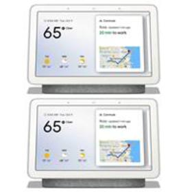 """Google 2 Pack 7"""" Touchscreen Home Hub with Built-I"""