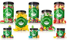 Tasty Gummy Candy Infused with Organic CBD from Gr