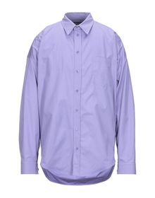 BALENCIAGA - Solid color shirt