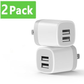 USB Wall Charger, dual USB Charger Adapter, Vogek