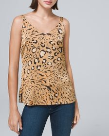 Ultimate Reversible Leopard-Print Camisole