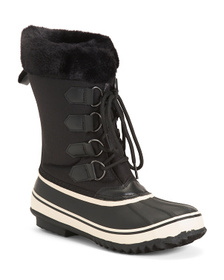 Waterproof Cozy Lined Storm Boots
