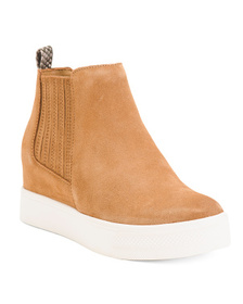Suede Fashion Sneakers