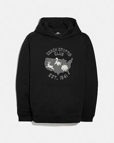 Coach mythical monsters coach cryptid club hoodie