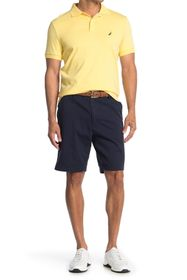 Nautica Flat Front Stretch Deck Shorts