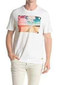 7 For All Mankind Road Graphic Tee
