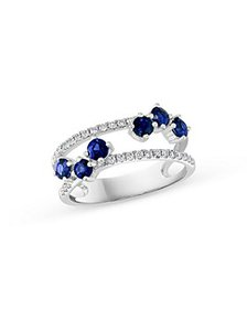 Bloomingdale's - Blue Sapphire & Diamond Statement