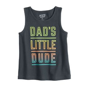 Baby Boy Jumping Beans® 'Dad's Little Dude' Tank T