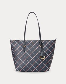 Ralph Lauren Faux-Leather Small Tote