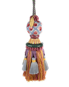 MacKenzie-Childs Ceramic-Head Tassel