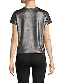 Prince Peter Collections Metallic Cropped Tee